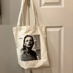 Taylor Swift Now AT&T Reputation Tote Bag
